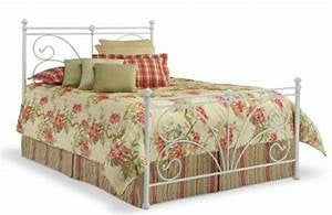 Vineland Cal King Bed Frame WITH RAILS by Fashion Bedding NEW IN BOX