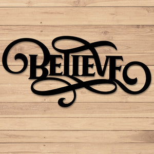 Believe Scroll