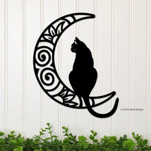 Load image into Gallery viewer, Cat and Moon