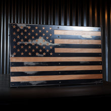 Load image into Gallery viewer, American Wood Flag