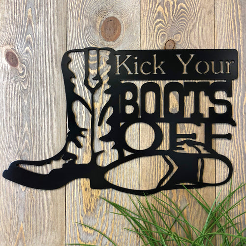 Kick Your Boots Off