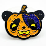 Pumpkin Panda Hat Pin