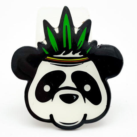 Panda Tree Hat Pin