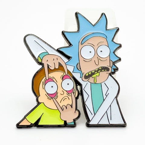 Rick & Morty Hatpin