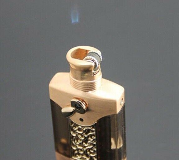 Jobon Floating Flame Lighter with Scoop Silver