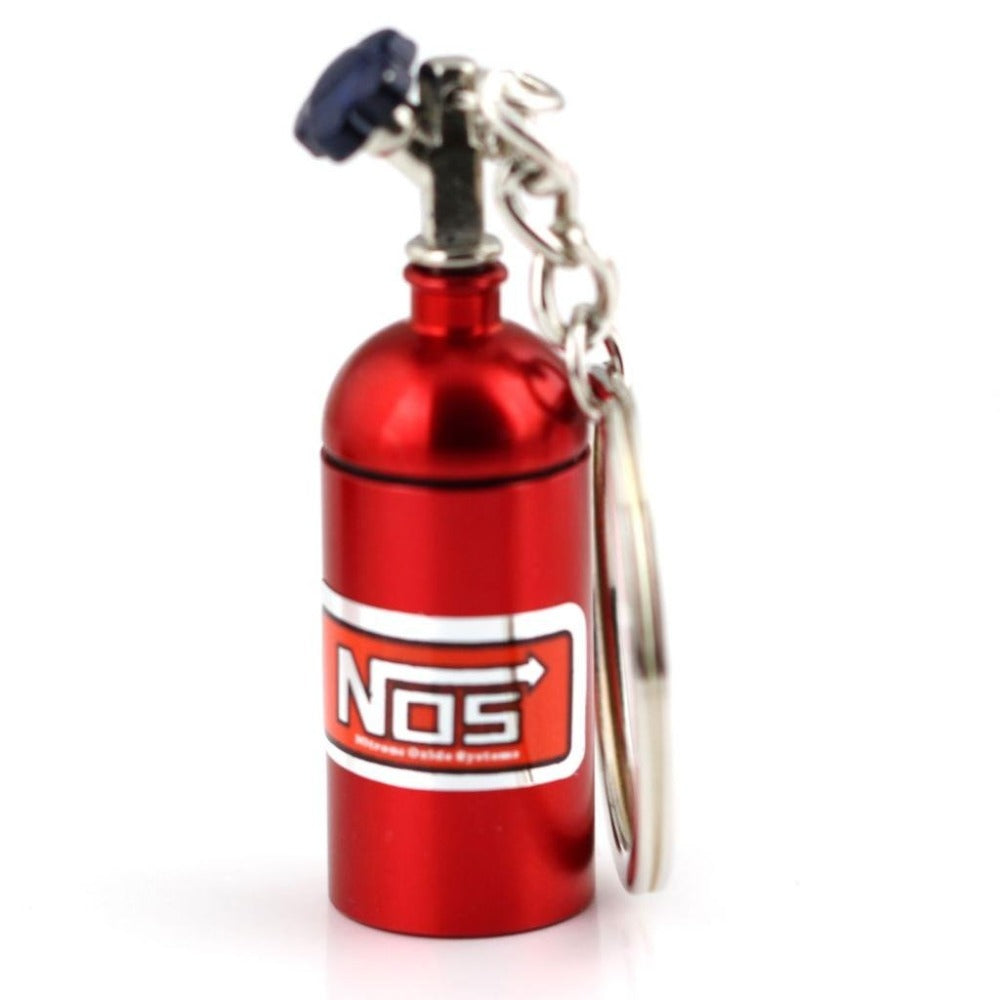 Nos Keyring with Secret Stash Spot, Diversion Safes,Cheeky Ninjas
