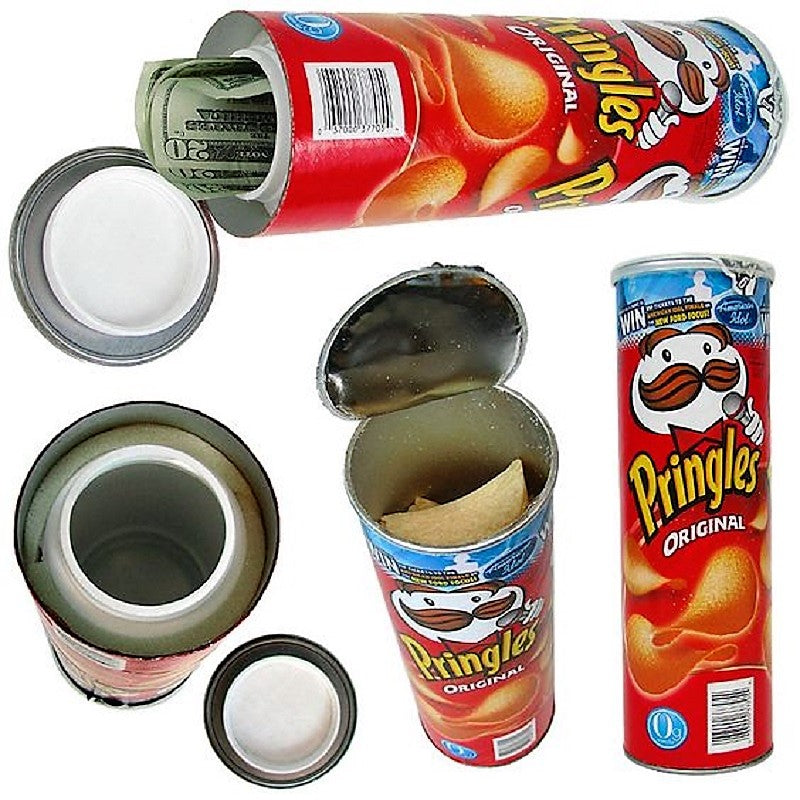 Pringles Can Safe - Cheeky Ninjas