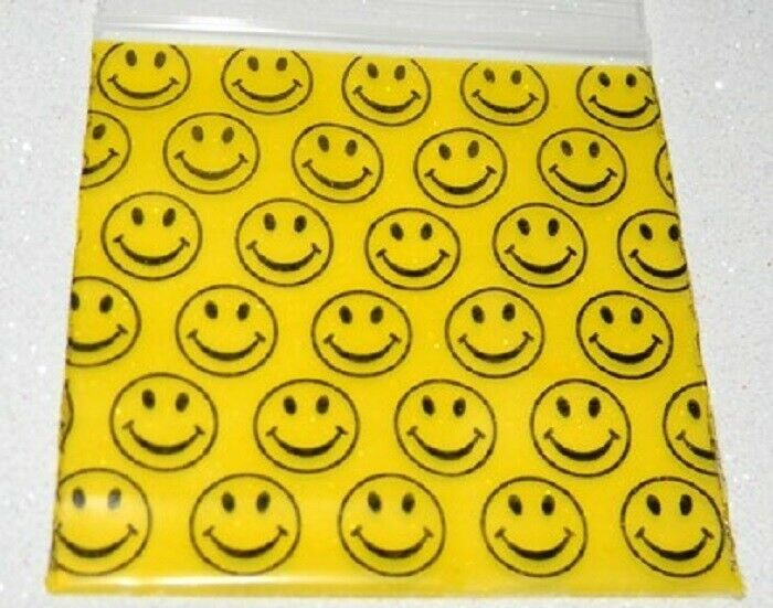 Apple Mini Ziplock Bags Smiley Face 125125, Apple Mini Ziplock Bags,Cheeky Ninjas