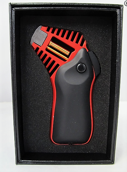 Scorch Torch Shock Jet Lighter Black/Red - Cheeky Ninjas