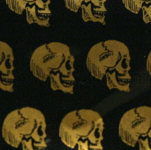 Apple Bags Gold Skulls Design - Cheeky Ninjas