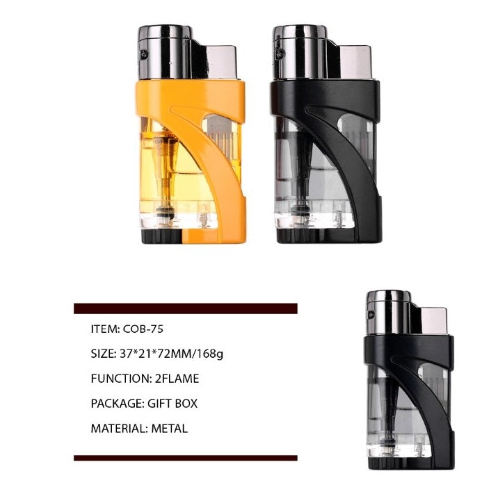 Cohiba Gift Boxed Twin Flame Jet Lighter - Cheeky Ninjas