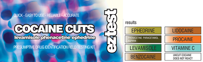 Eztest Cocaine Cuts - Test For Cutting Agents, Drug Tests,Cheeky Ninjas