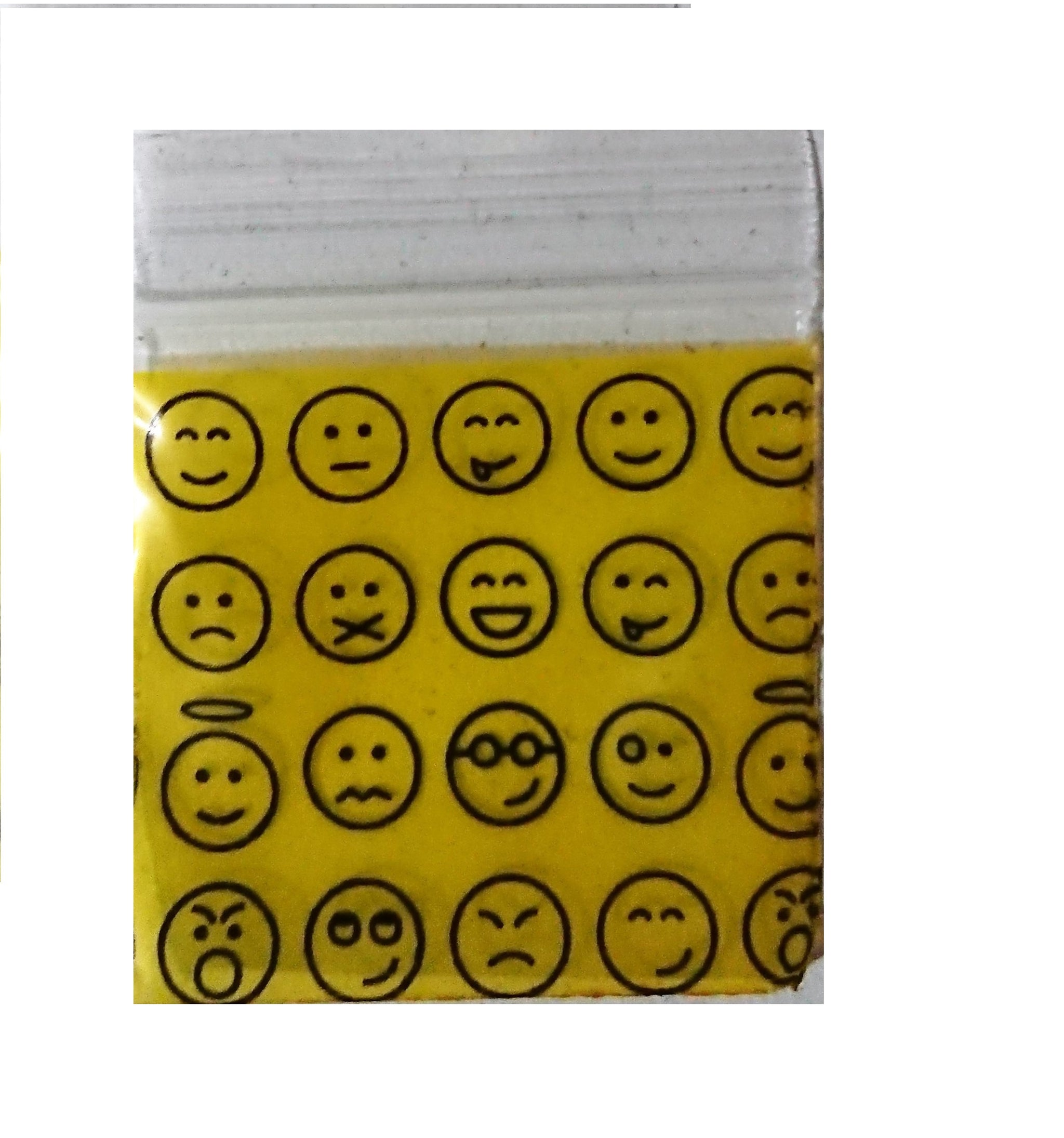 Emoji Apple Ziplock Baggies 1515, Apple Mini Ziplock Bags,Cheeky Ninjas