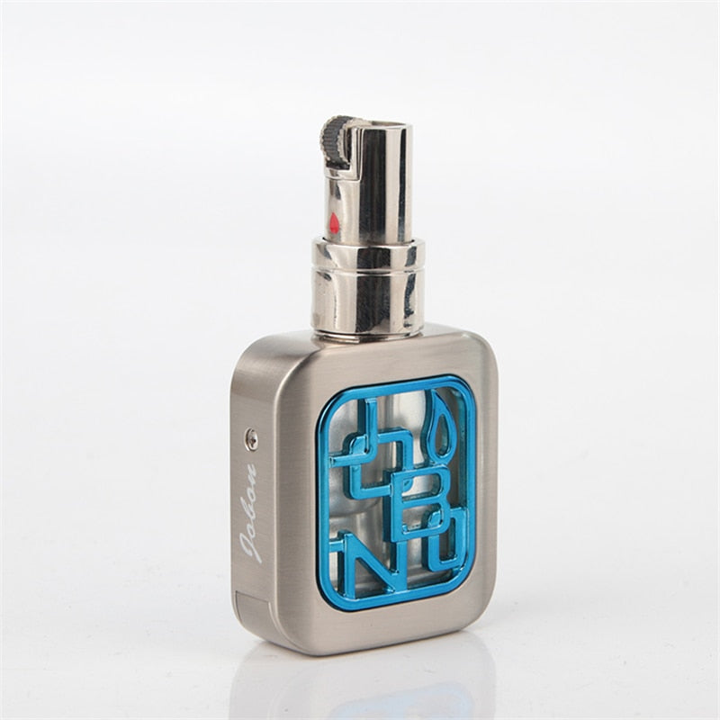 Jobon Floating Flame Lighter - Logo Design Blue - Cheeky Ninjas