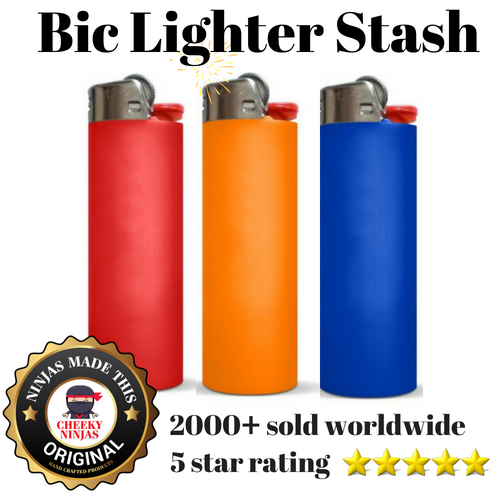 Bic Lighter Stash - Cheeky Ninjas