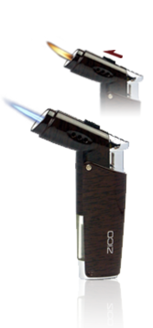 Zico ZD47 Dual Flame Jet Lighter, Lighters,Cheeky Ninjas