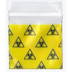 Bio Hazard Designer Apple Baggies 125125, Apple Mini Ziplock Bags,Cheeky Ninjas