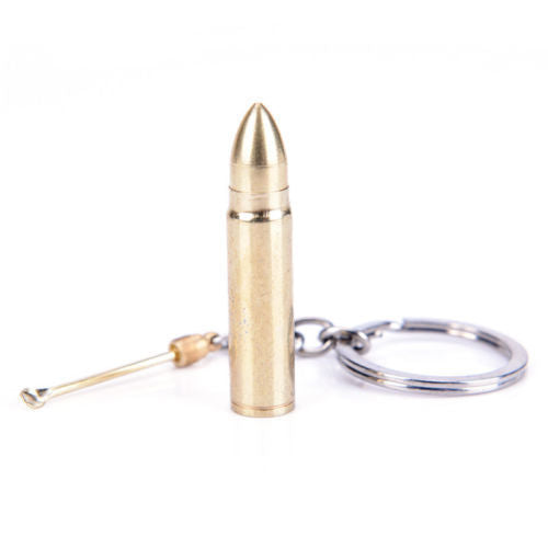 Snuff Bullet Keyring with Mini Snuff Spoon - Cheeky Ninjas