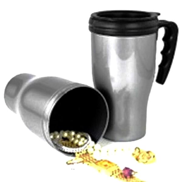 Travel Mug Secret Stash Safe, Diversion Safes,Cheeky Ninjas