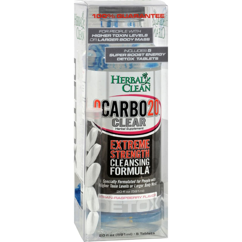 Qcarbo20 Clear Detox Solution | Herbal Clean