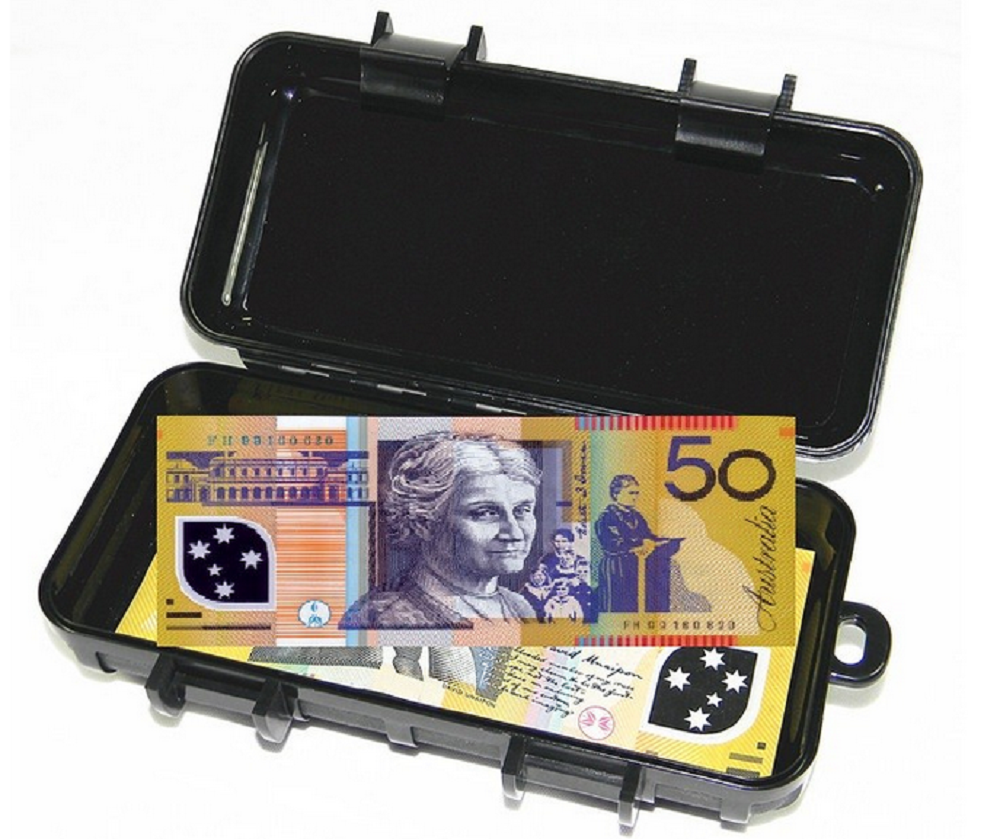 Magnetic Cash Stash Box - Cheeky Ninjas