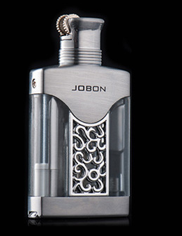 Jobon Floating Flame Lighter with Scoop Silver - Cheeky Ninjas