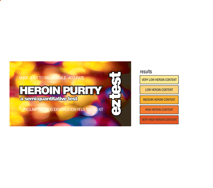 Ez Test for Heroin Purity, Drug Tests,Cheeky Ninjas