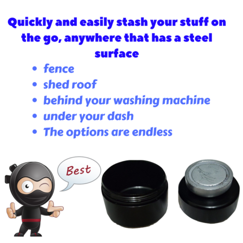 Magnetic Stash Cylinder - Cheeky Ninjas