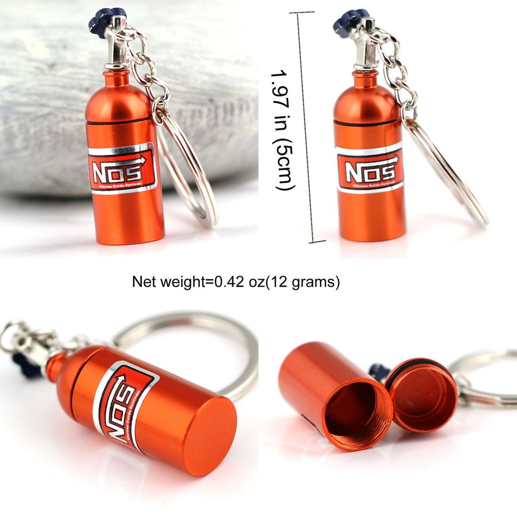 Nos Keyring with Secret Stash Spot - Cheeky Ninjas
