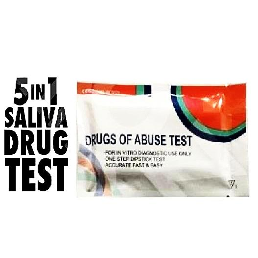 5 Panel Saliva Drug Test Kit - Cheeky Ninjas