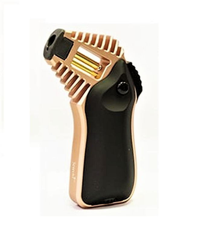 Scorch Torch Shock Jet Lighter Black/Rose Gold - Cheeky Ninjas