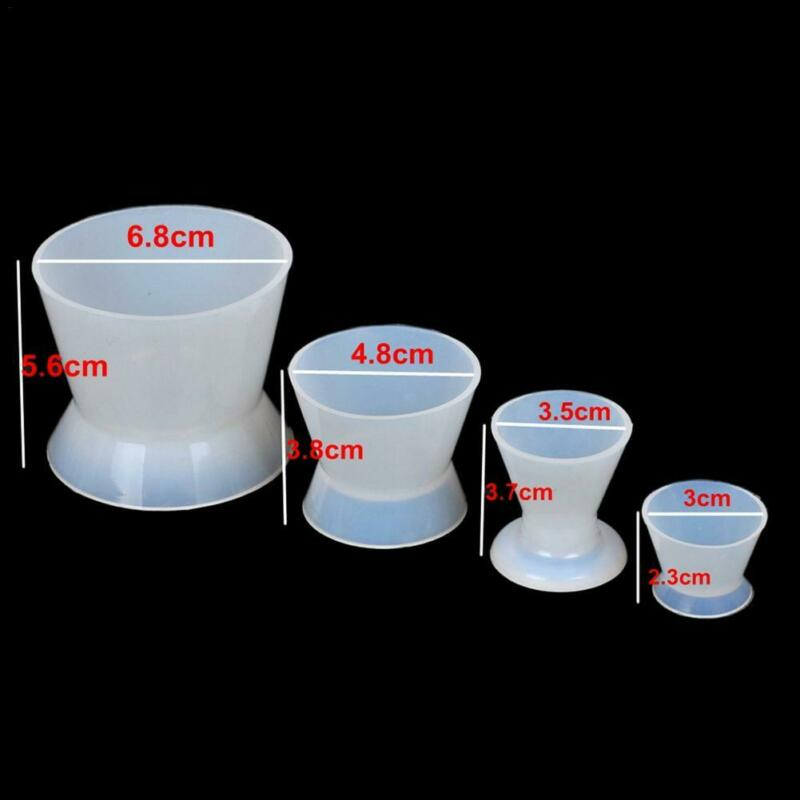 Silicone Weighing Cups 4pc set, Silicon weighing cup,Cheeky Ninjas