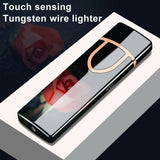 Mini USB Electronic Cigarette Lighter Charging Sensor Touch