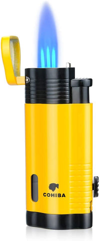 Cigar Lighter Torch Refillbale with Punch