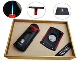 Guevara luxury Cigar Cutter lighter Set