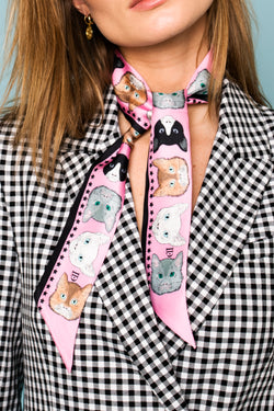 Robine Scarf - Kitty