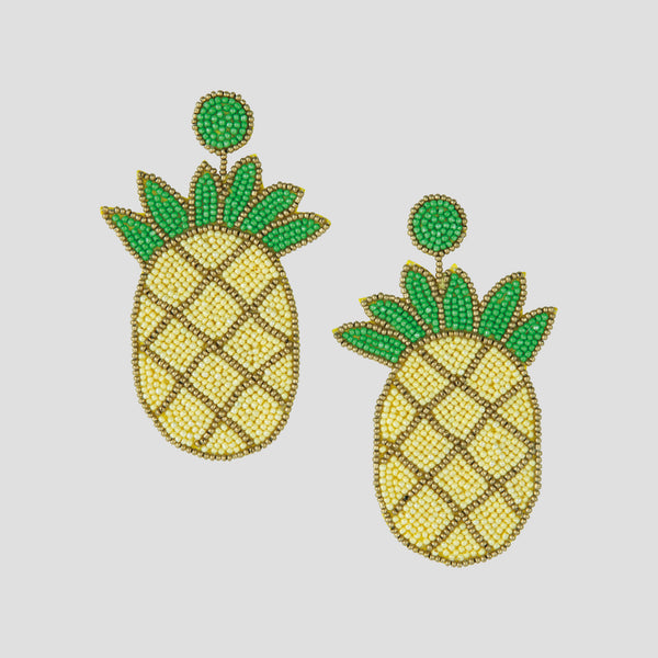 Loulou Earrings - Pineapple
