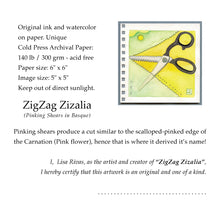 Load image into Gallery viewer, ZigZag Zizalia - ✂️