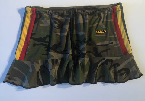 Short Flirty Reggae Skirt