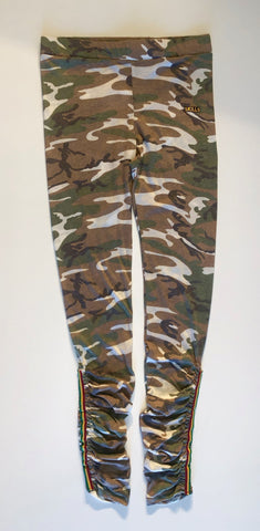 Rouched Camo Leggings