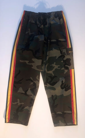 Men's Camouflage Reggae Army Pants