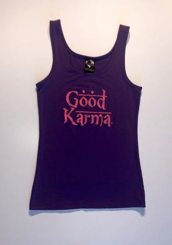 """Good Karma"" Yoga Tank Top"