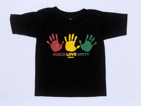 """Peace Love Unity"" Kids' Tee"