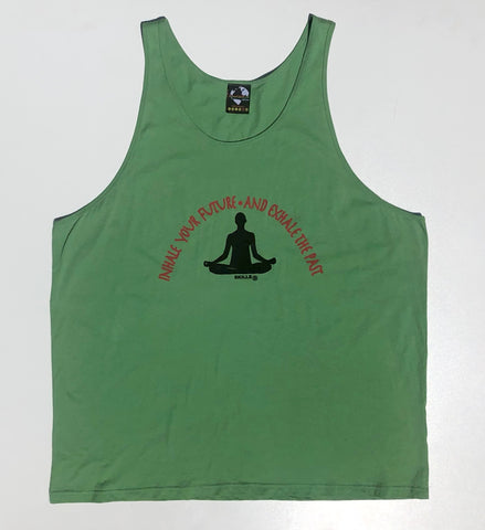 "Men's ""Inhale Your Future and Exhale Your Past"" Tank"