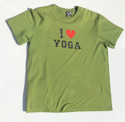 "Men's ""I Love Yoga"" Tee"