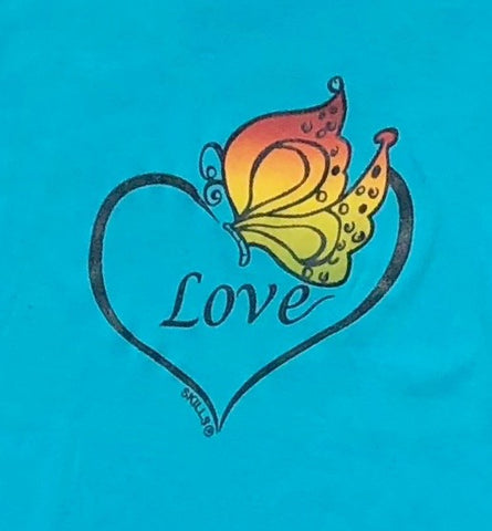 """Love Butterfly"" Inspirational Tee"