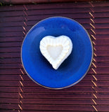 Heart-shaped Shea Butter Aromatic Massage Candle
