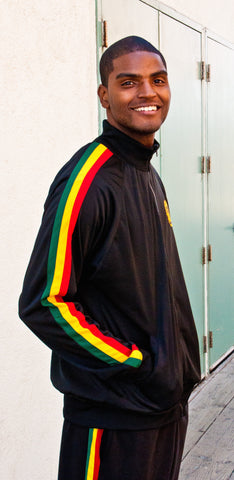 Men's Reggae Skills Track Jacket