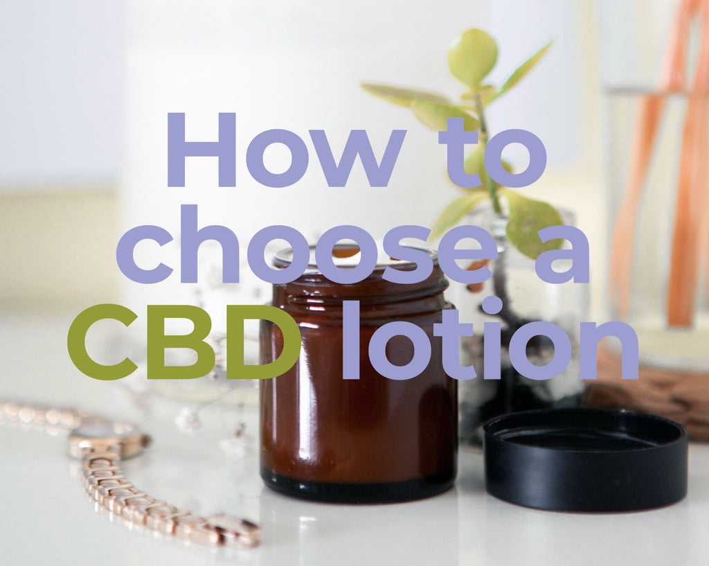 How To Choose A CBD Salve Or Lotion