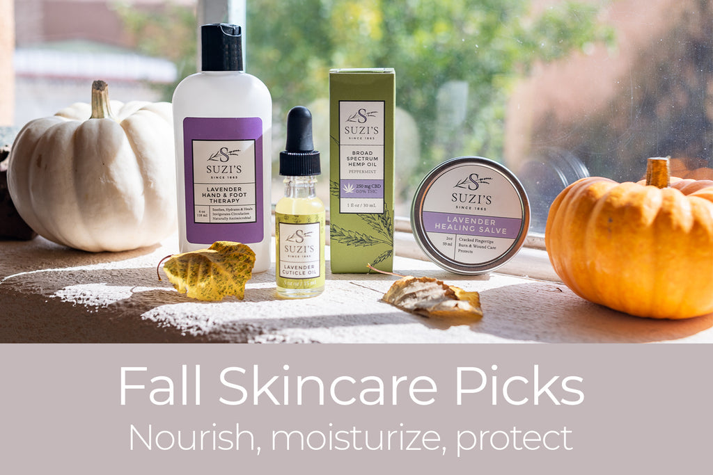 Suzi's Fall Skincare Picks